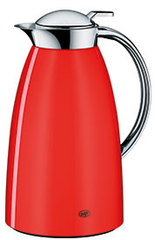 Isolierkrug Gusto Metall lackiert, rot