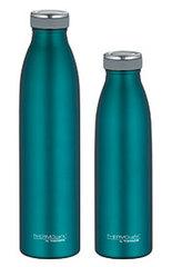 Isoliertrinkflaschen-Set, teal