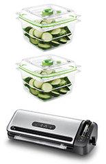 FoodSaver Vakuumiergerät FFS017X mit 2 Gratis-Behälter
