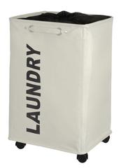 WENKO Wäschesammler Quadro Beige