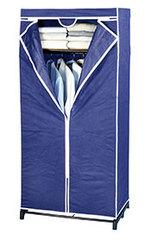 Kleiderschrank Air mit Ablage blau