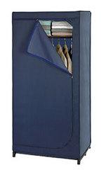 Kleiderschrank Business mit Ablage dunkelblau