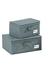 Aufbewahrungsboxen Liberta Set 2-teilig M+L