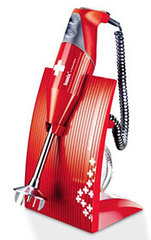 Bamix Stabmixer SwissLine Rot Swiss Edition