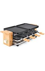 Raclette Bamboo für 8 Personen