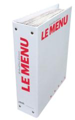 Classeur LE MENU / Version française