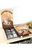 Wenko Glasabdeckplatten-Set Kaffee