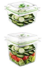 Foodsaver Behälter-Set 3 (1x 1,8 Liter, 1x 1,2 Liter)