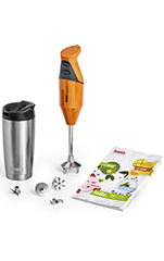 bamix Stabmixer-Set toGo Orange