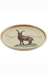 Rheinfelder Keramik Teller einzeln «Steinbock»