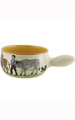 Rheinfelder Keramik Fondue-Set «Appenzell»